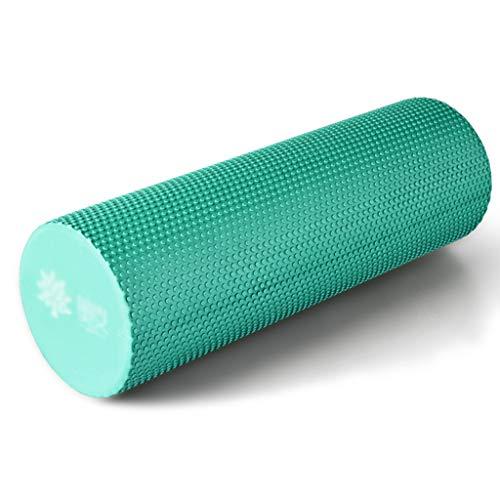 CKR SPORTS Tige en Mousse, Rouleau de Relaxation Musculaire, Colonne de Yoga, Pied de biche en Tuyau de poêle, Masse pour débutant, Rouleau de Massage,aquablue