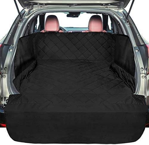 F color SUV Cargo Liner for Dogs Large Waterproof Pet Cargo Cover with Side Flap Protector Dog product image