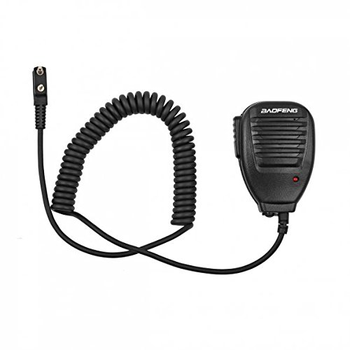 Baofeng BF-S112 Two Way Radio Speaker,Black