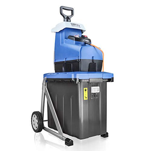 Hyundai HYCH2800ES Electric Garden Shredder, Blue