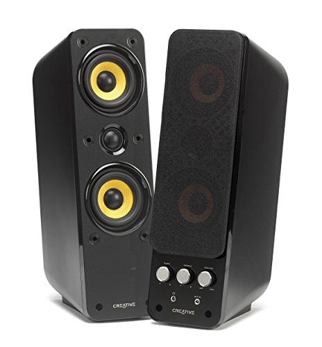 Creative Labs GigaWorks T40 Series II 2.0 High-end Speakers, 51MF1615AA000 (2.0 High-end Speakers)