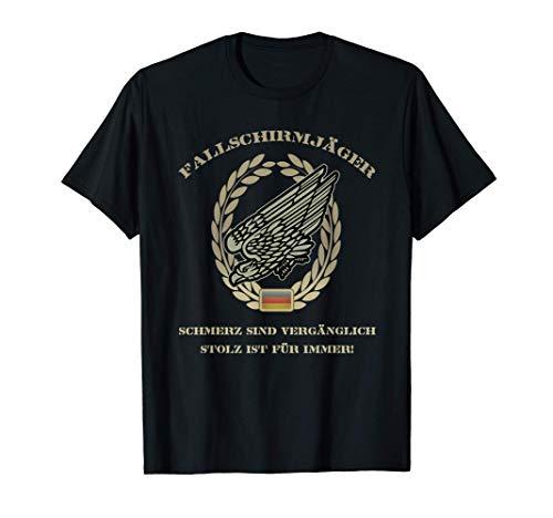 Fallschirmjäger Abzeichen Adler Bundeswehr Soldat Geschenk T-Shirt