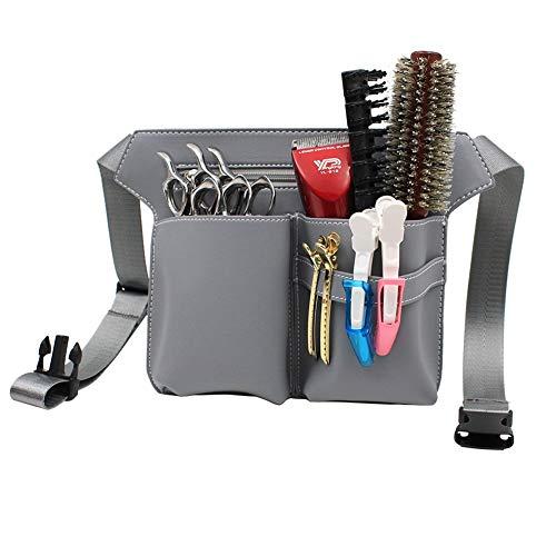 Funda de tijera Funda de funda Bolsa de herramientas de peluquero Salón de peluquería profesional Bolsas de cintura de peluquería