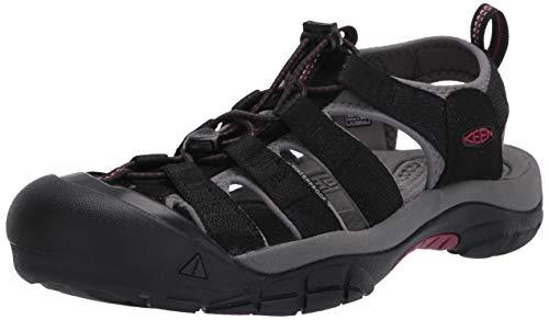 KEEN Women's Newport H2 Sandal, Black, 6.5