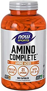 Now Foods Amino Complete, 360 Capsules (Pack of 2)