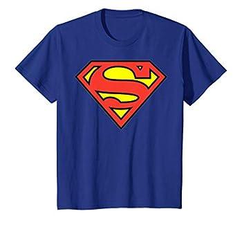 Kids DC Comics Superman Classic Chest Logo T-Shirt