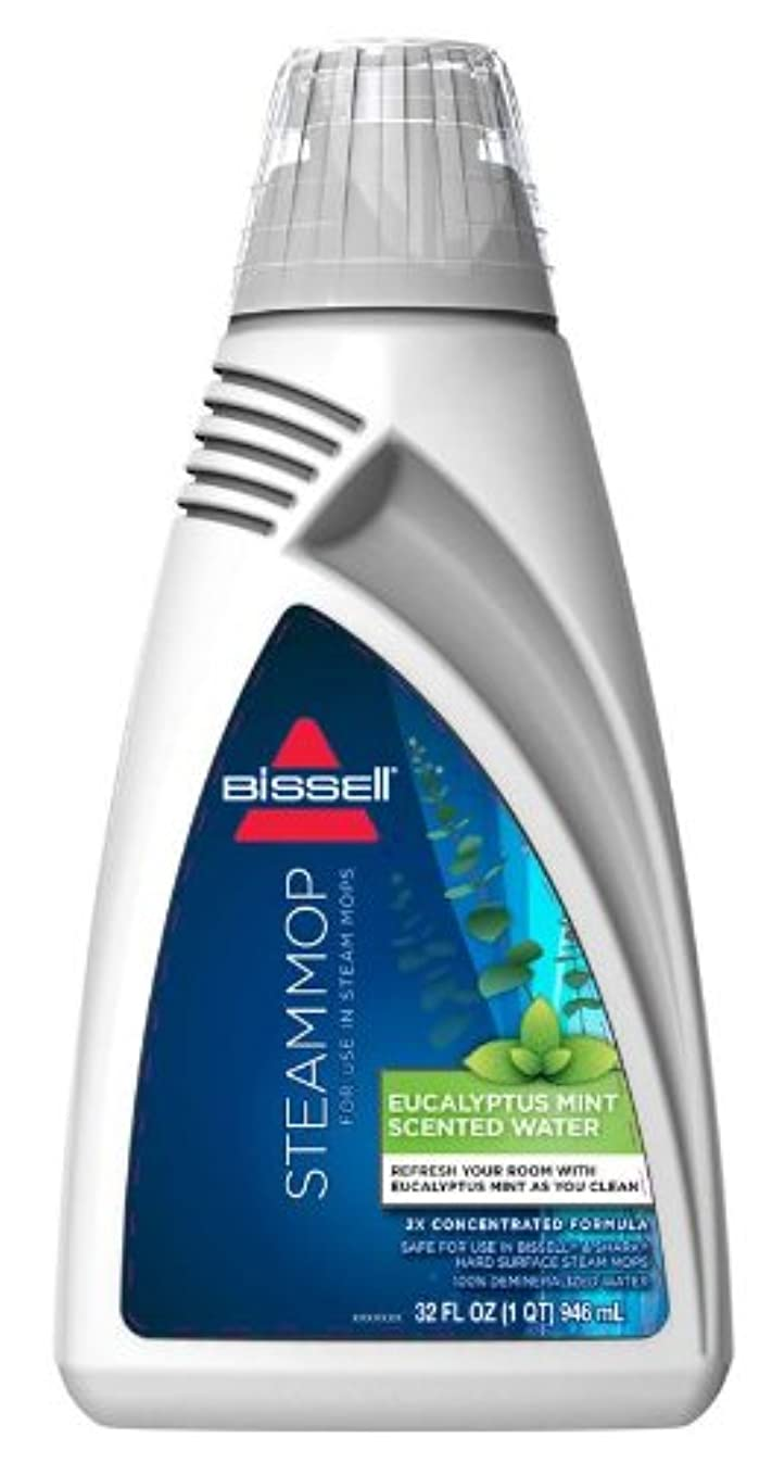 Bissell Eucalyptus Mint Demineralized Steam Mop Water, 32 Ounce