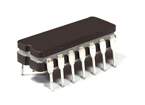 Motorola MC14011BCL Quad 2-Input NAND Gate / Gatter Ceramic IC DIP-14 5V 125ns (Generalüberholt)