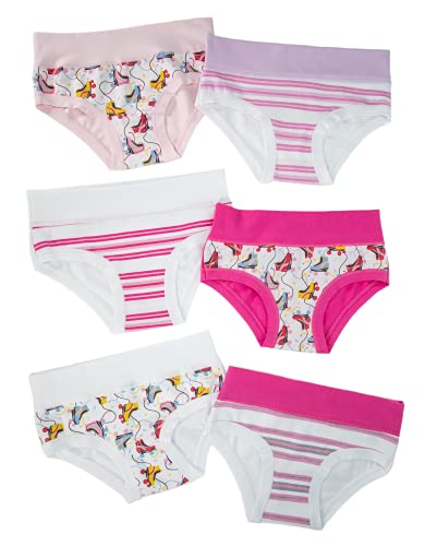EMY Bragas para niña de 2 a 3 a 4 a 5 a 6 a 7 a 8 a 9 a 10 a 11 a 12 años, de algodón elástico suave, colores hipoalergénicos, para niños y niñas Emy 8 años