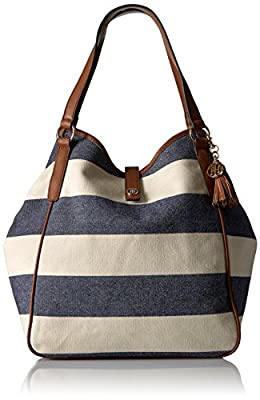 Tommy Hilfiger Hazel Rugby Canvas Tote