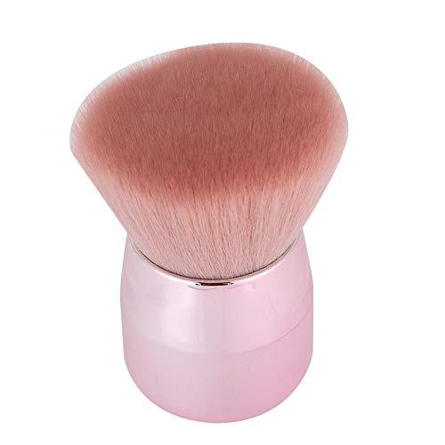 Pinceau de maquillage, brosses cosmétiques poignée portable doux pour la peau tactile utilisé comme pinceaux à ongles, pinceau de maquillage, pinceaux blush, pinceaux à poudre(Tête ronde)