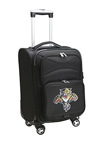 Denco NHL Florida Panthers Domestic Carry-On Spinner, 20-Inch, Black
