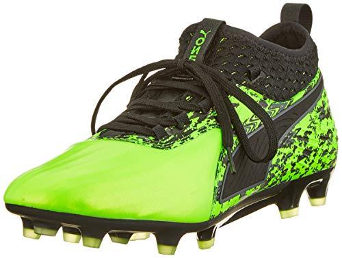 Puma ONE 19.2 FG/AG, Herren Fußballschuhe, Grün (Green Gecko-PUMA Black-Charcoal Gray 03), 43 EU (9 UK)