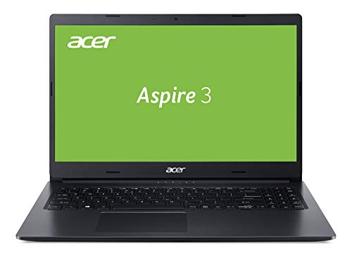 Acer Aspire 3 (A315-55G-5367) 39,6 cm (15,6 Zoll Full-HD matt) Multimedia Laptop (Intel Core i5-10210U, 8 GB RAM, 512 GB PCIe SSD, NVIDIA GeForce MX230, Win 10 Home) schwarz