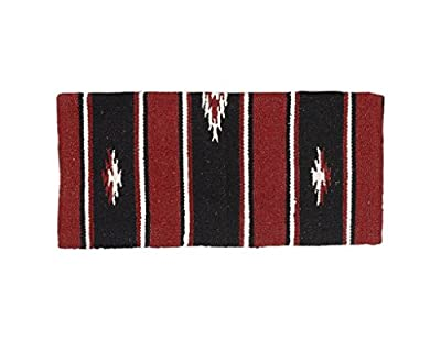 "Tough 1 55% Wool Sierra Saddle Blanket 24""X24"""