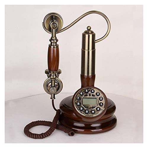 WSZMD Teléfono Pared Retro Teléfono Fijo Sala De Estar Teléfono Antiguo Vintage Teléfono Fijo Casa Montado Teléfono Fijo Teléfono Retro