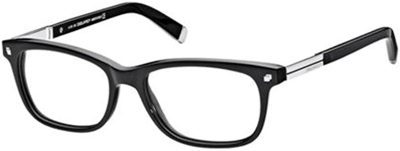 Dsquared DQ5052 Eyeglasses 001 Shiny Black New