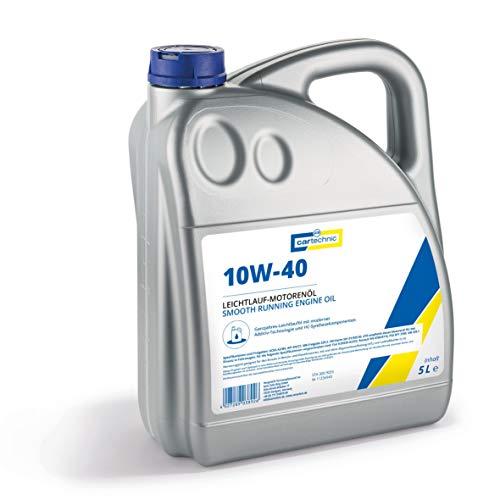 Cartechnic 3009055 Motorenöl 10W40 Öl 5 Liter 501.01 ; 505.00