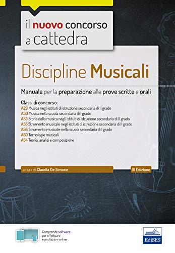 Discipline musicali: Manuale per la preparazione alle prove scritte e orali