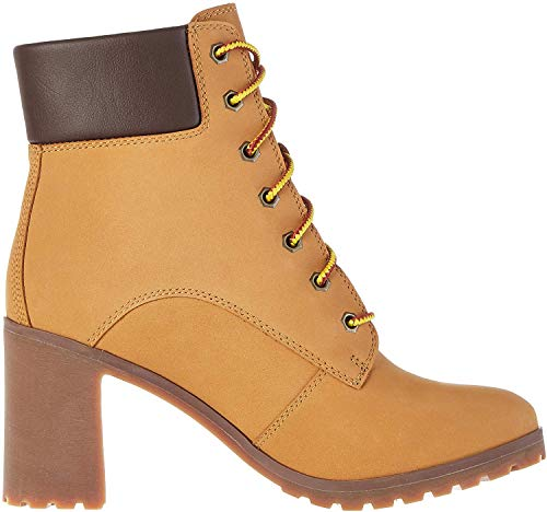 Timberland Damen Allington 6 Inch Lace-Up Stiefel, Gelb (Wheat), 39 EU