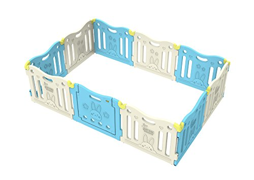 Baby Care Funzone Play Pen (SkyBlue)