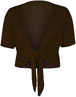 Elegante Giacca da Spalla in Chiffon Bolero a Maniche Corte Casual Leggero Cardigan Top Traslucido Cardigan Looes Fit Blazer Festlich Giacca per Estate Parabler