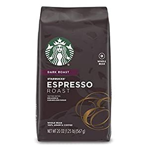 Starbucks Dark Roast Whole Bean Espresso Coffee