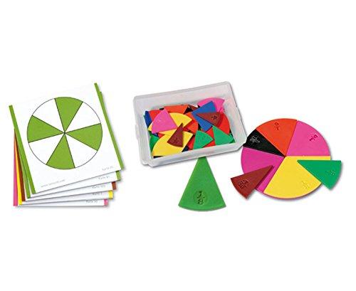 Betzold 82147 - Set: Bruchrechen-Karten und Legematerial - Mathematik Rechenspiel
