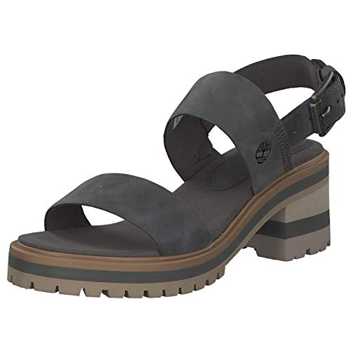 Timberland Sandalen für Damen A1WJP Violet Dark Grey Schuhgröße 41