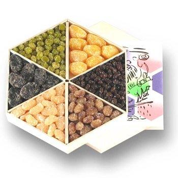 【築地の達人】甘納豆を造り続けて六十余年・銀座鈴屋 華やぎ(HSA-5)ギフト好適品 銀座鈴屋の代表的な甘納豆が一度に楽しめる豪華な詰合せです。