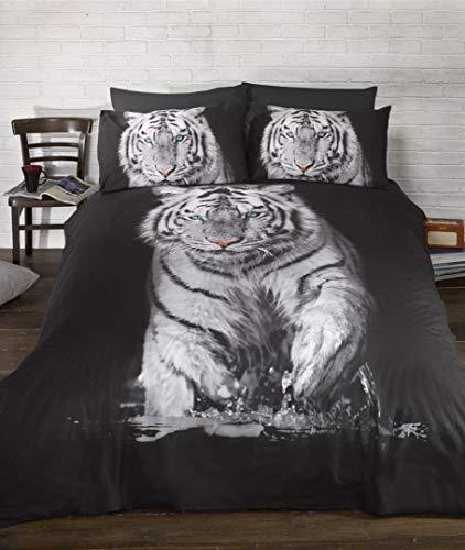 Bedding Heaven Ropa de Cama Funda de edredón de Tigre Cielo Impresion