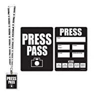 Beistle Company 57879 Press Party Pass - Pack of 12