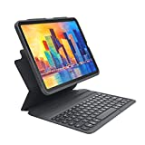 ZAGG - Pro Keys Wireless Keyboard and Detachable Case - Compatible with The Apple iPad Air (4th Gen) - iPad 10.9 inch (103406884)