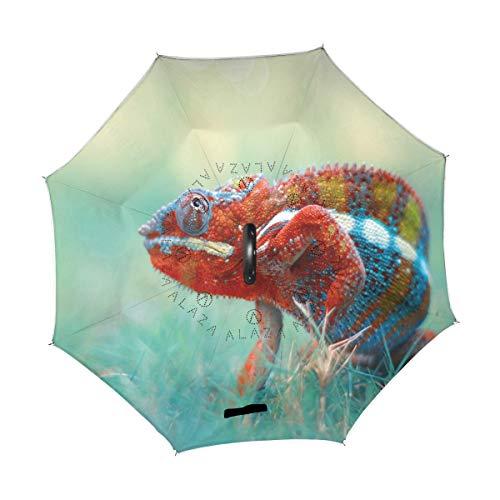 Great Features Of TropicalLife Double Layer Inverted Umbrella Reptile Chameleon Reverse Umbrella