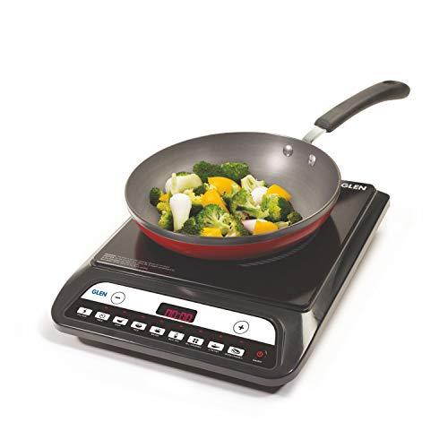 Glen Pre-Set Cooking Function 1400 W Induction Cooker (Black)