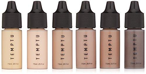 Conjunto 6 Bases De Maquillaje  marca Temptu
