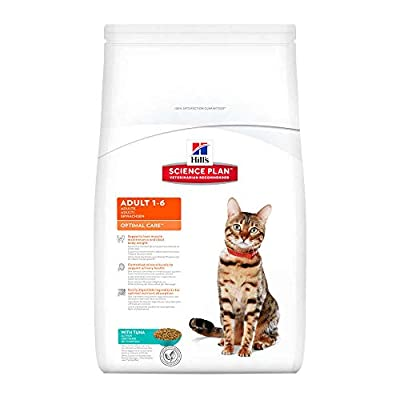 Hills Science Plan Feline Adult Optimal Care with Tuna