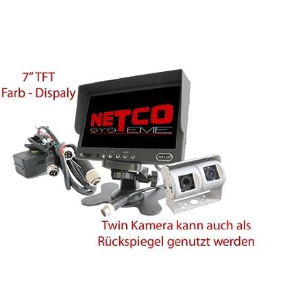 NOYES-Twin-Rueckfahrkamera-mit-7-Zoll-Monitor-Farb-Twin-Kamera-Rueckfahrvideosystem