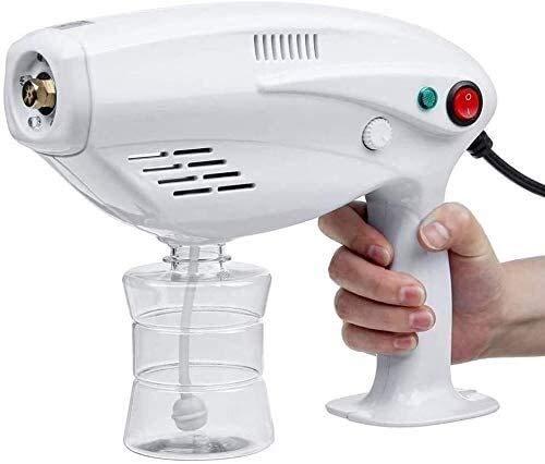 Byakns Tragbares Sprühgerät Micro-Nebel-Maschine Elektrostatisches Sprühgerät, Desinfektionsmittel-Desinfektionsmittel-Fogger-Maschine, handheld wiederaufladbarer Nano-Dampfzerstäuber für Desinfektion