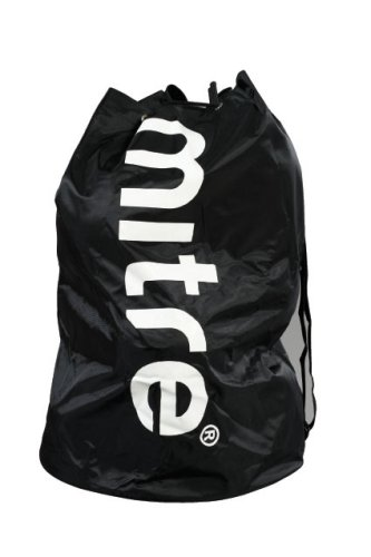 Mitre Fußball Training Sack, Black, 8 Balls
