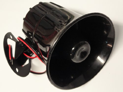 "Powerhouse TEP 4"" Inch 6 Tone High db Car Alarm Replacement Siren"