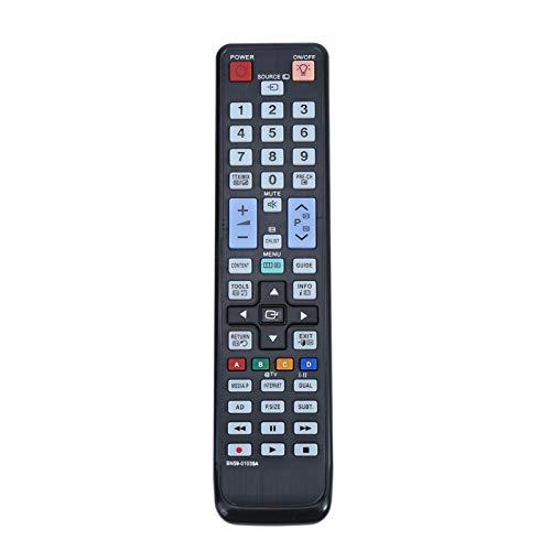 BOLORAMO Smart TV Remote Control, Universal TV Remote Control de Rendimiento Estable Control Remoto de Repuesto dedicado para BN59-01039A