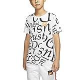 NIKE Sportswear tee AOP Jdiy Shirt, Blanco, M Boys