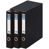 Dohe Archicolor - Módulo 3 archivadores A4, color negro