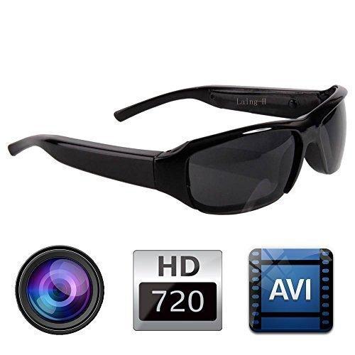 WISEUP 8GB 1080P HD Gafas de Sol con una Videocámara Oculta Cámara Espía Gafas Mini DV Videocámara con la Función de Grabación de Audio