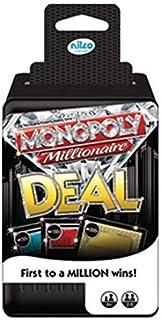 لعبة بطاقات مونوبولي مليونير ديل من نيلكو