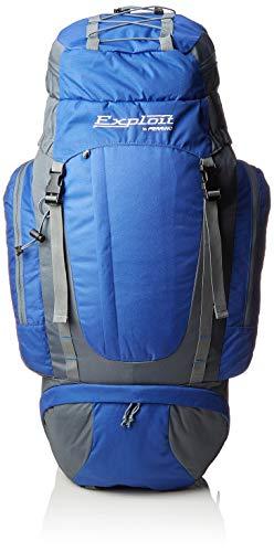 Ferrino Exploit, Zaino da Trekking Unisex, Blu, 75 Litri
