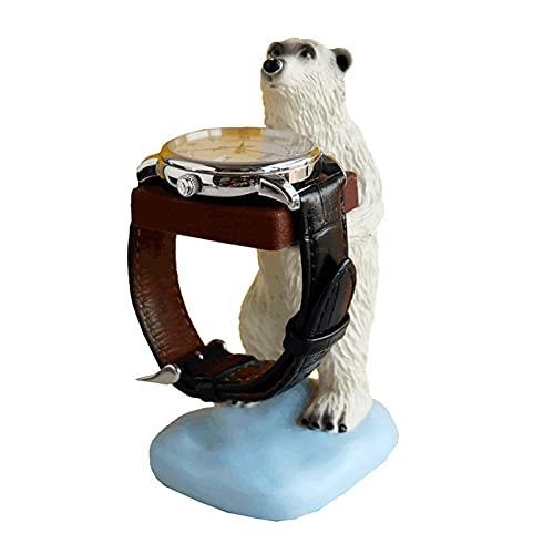 Faderr Lindo oso polar animal teléfono celular soporte para escritorio Smartphone teléfono móvil titular para smartphone escritorio decoración del hogar decoración multifuncional