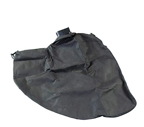 gartenteile Laubsauger Fangsack passend für Einhell Blue BG-EL 2501 E Elektro Laubsauger Laubbläser. Auffangsack für Laubsauger mit eckigem Anschluss und Reißverschluss zum entleeren.