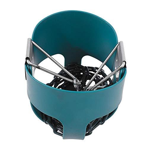 Lyrlody- Columpio para bebé, columpio para niños, totalmente montado, respaldo alto, asiento de columpio, color verde